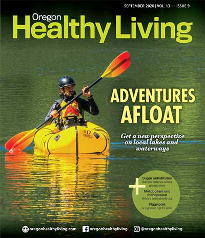 COVER Oregon Healthy Living Sept 2020