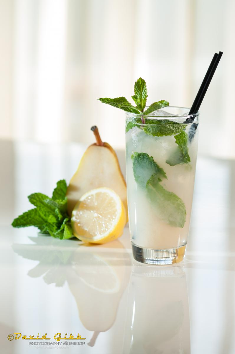 PERFECTLY PEAR MOCKTAIL