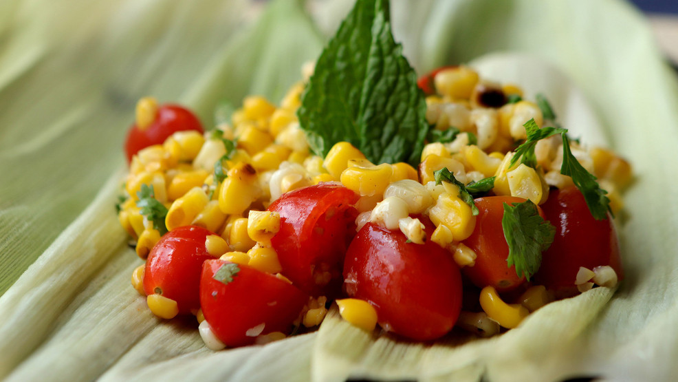 Indian corn salad