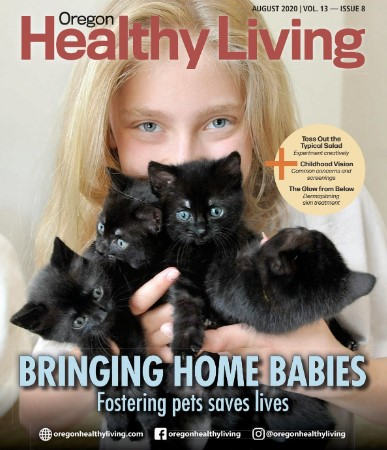 COVER Oregon Healthy Living August 2020
